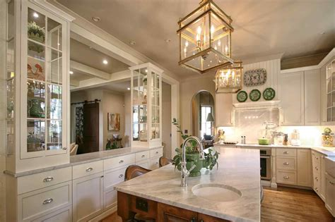 decorate kitchen cabinets  glass doors sofa cope