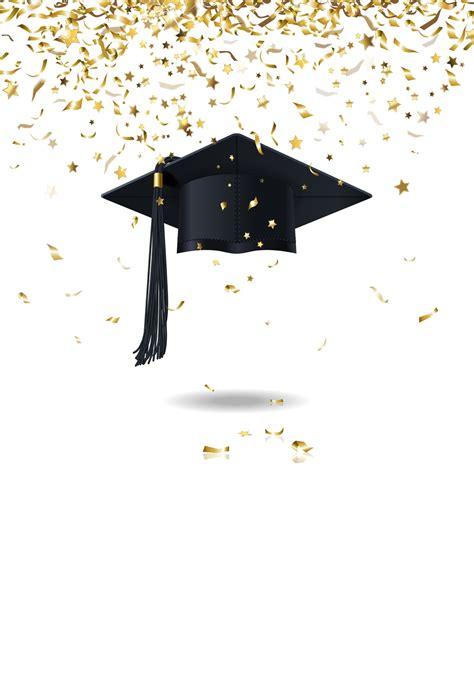 huayi  graduation hat backdrops school students