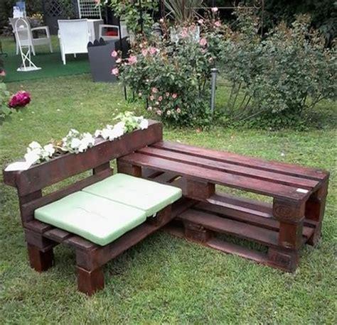 beautiful and wonderful diy pallet garden bench ideas