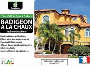 Badigeon Chaux Exterieur : badigeon la chaux color b ton ~ Premium-room.com Idées de Décoration