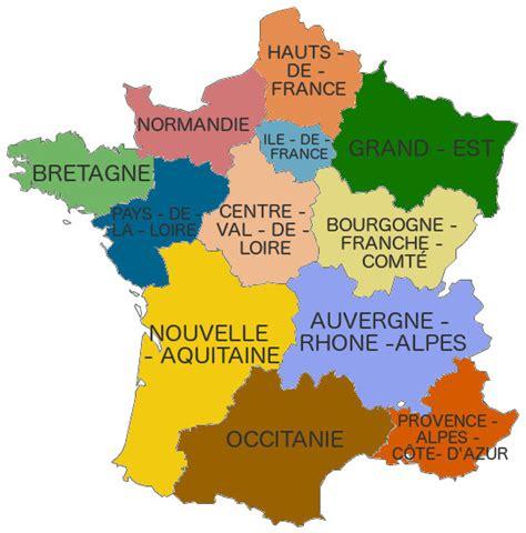 Nouvelle Carte De Par Region by Info Les Nouvelles Regions De