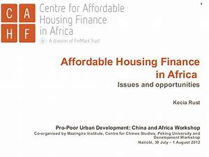 Pro-Poor Urban Development: China and Africa Workshop ...