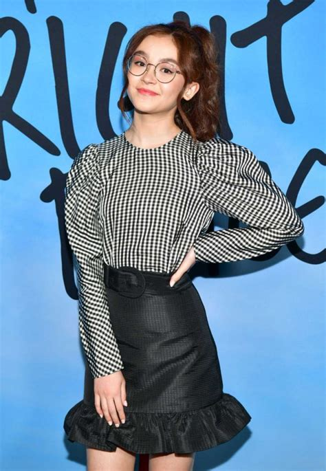 anna cathcart attends   bright places premiere