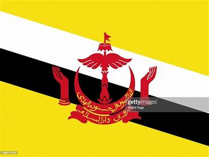 Brunei Flag Darussalam National Official Flags Nationality