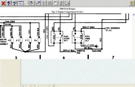 Ford Ranger Fuel Pump Wiring Diagram For