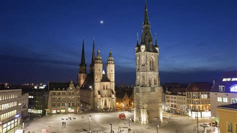 Cityscapes Night Germany Moon Church Bing High Quality