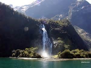 New Zealand Mountain Waterfalls