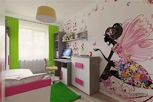 Kinderzimmer Für Mädchen : 3d visualisierung kinderzimmer f r ein m dchen ~ Sanjose-hotels-ca.com Haus und Dekorationen