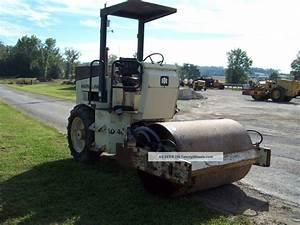 Ingersoll Rand Sd40d 54  U0026quot  Single Drum Vibratory Soil  Stone Roller