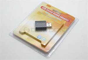 Usb To 3 5mm Jack Audio Adapter External Usb Stereo Sound