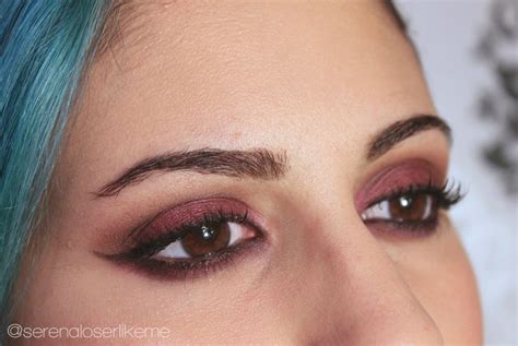 fall cranberry grunge makeover   create  red eye