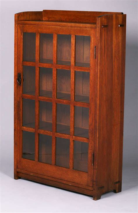 stickley bookcase for sale gustav stickley one door bookcase c1907 1910 california