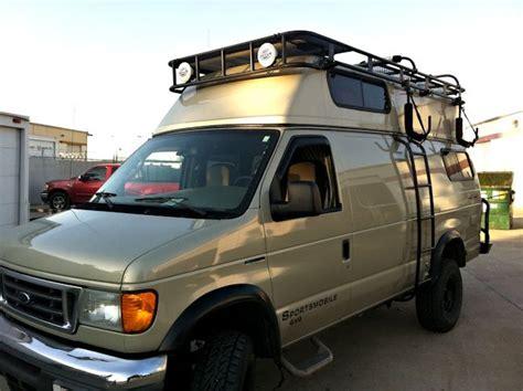 Fiberglass Top Roof Rack For Ford Van
