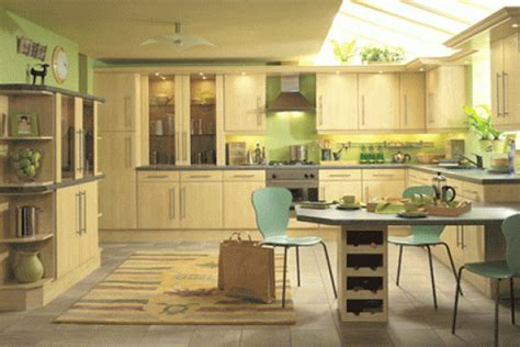 green and kitchen green and yellow kitchen decor housedesignpictures 7856