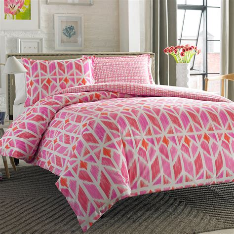 Gamis Set Pink city grayson multi pink comforter and duvet set from