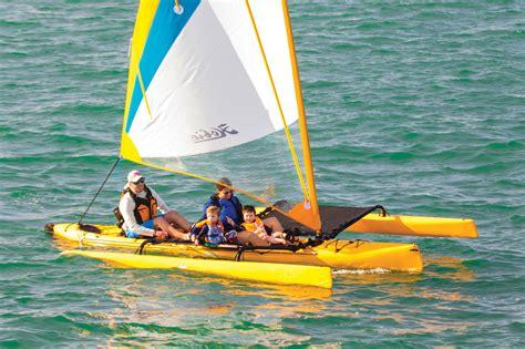 hobie mirage island sail magazine