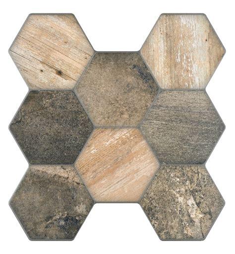 carrelage 45 x 45 vesta wood hexagonal wall and floor tile 45x45 tiles 2 go ltd