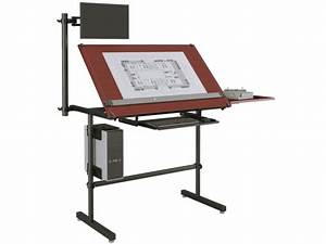Woodwork Build a portable drafting table Plans PDF