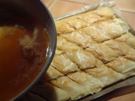 tendresse en cuisine baklava recette orientale la tendresse en cuisine