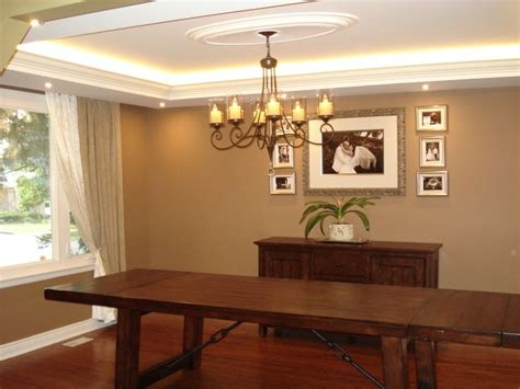 C Offered Ceilings with Cove Lighting
