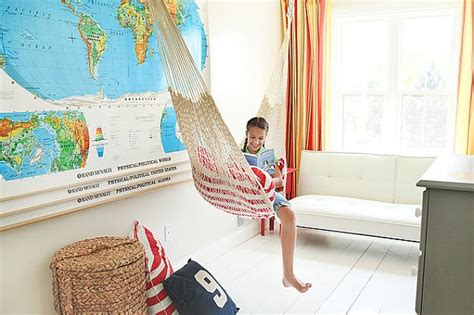 Bedroom With Hammock by Room Designs That Celebrate Childhood