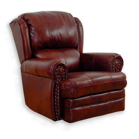 buckingham oversized rocker recliner chair in chestnut