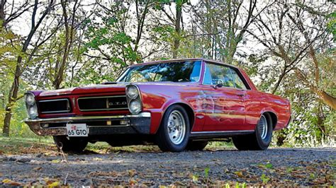 Cool Gto by Cool Car Find 1965 Pontiac Gto For 49 500 Racingjunk News