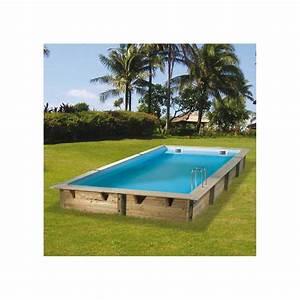 Piscine Bois Ubbink : piscine bois linea ubbink 350x650 cm h140 cm ~ Mglfilm.com Idées de Décoration