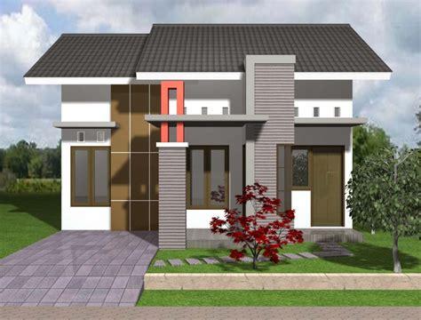 gambar desain rumah minimalis type  mungil  modern
