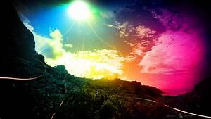 1920x1080 Hd Sky Rainbow And Color Light Backgrounds