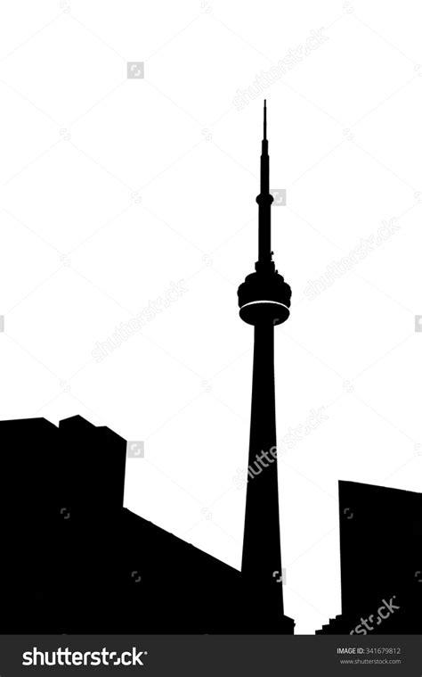 cn tower clipart clipground