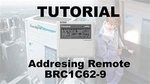 Daikin - Tutorial Addresing Remote Brc1c62-9