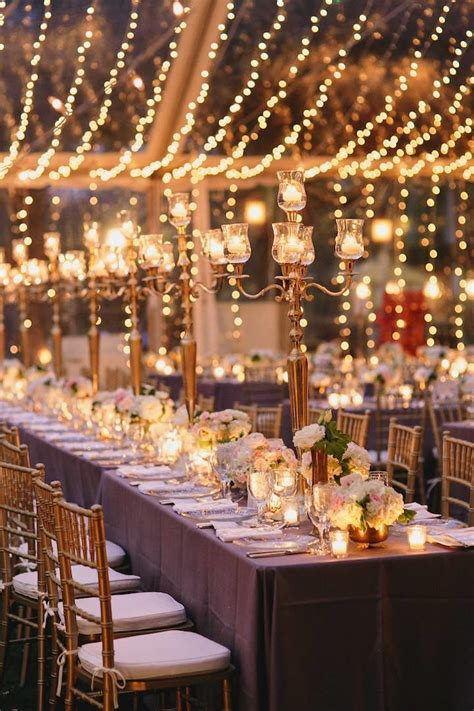 types  beautiful lighting designs  gorgeous wedding