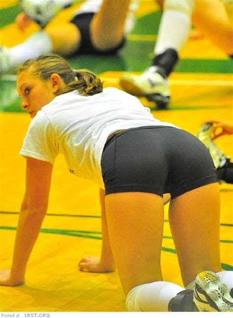 Beautiful and sexy volleyball players