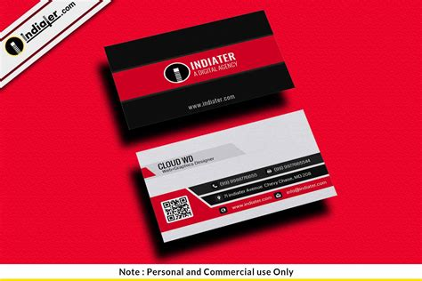 Cards Templates by Personal Business Cards Free Psd Templates Indiater