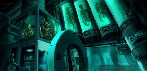 Creepy Sci-fi Lab By Akiraxcmxc On Deviantart