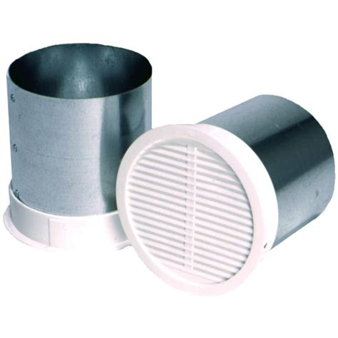 bathroom fan exterior vent covers 4 in eave vent for bath exhaust bfev4 the home depot