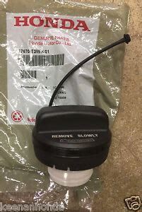genuine oem honda gas fuel filler cap  tw  ebay