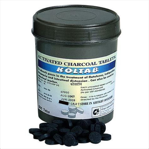 Activated Charcoal Tablets - Activated Charcoal Tablets
