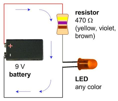 Schematic With Battery Ohm Resistor