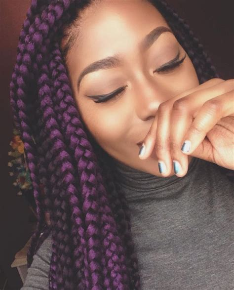 Image Result For Box Braids Two Colors Natural Hair