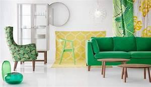 Canapé Vert Ikea : canap ikea stockholm le vert parfait petit prix d co pour rien pinterest canap vert ~ Teatrodelosmanantiales.com Idées de Décoration
