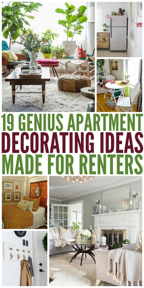 Kitchen Decorating Ideas For Renters by 19 Genius Apartment Decorating Ideas Made For Renters