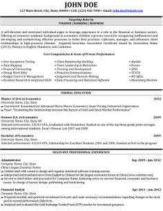 Financial Analyst Resume Template Free by 36 Best Finance Resume Templates Sles Images Resume