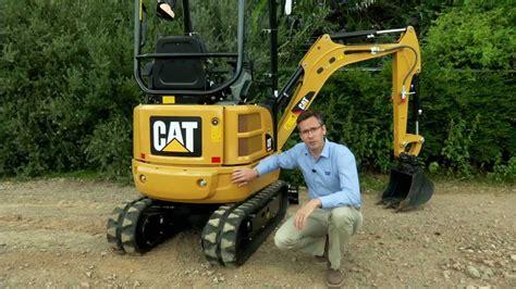 cat  cr mini excavator overview youtube