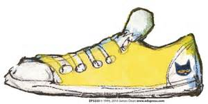 pete the cat white shoes groovy shoes accents featuring pete the cat ep 3233