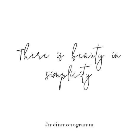 there is in simplicity zitat englisch kurz