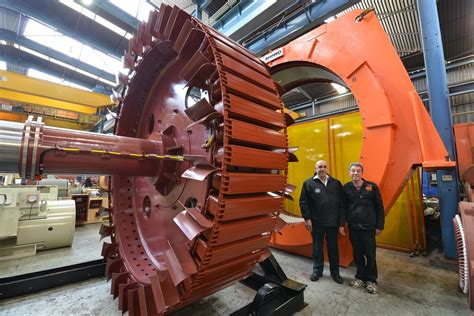 Largest Electric Motor by M C Refurb Of Mill Motor At Freda Mine In