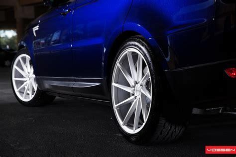 2014 Range Rover Sport Gets 22-inch Vossen Cvt Wheels