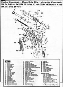 27 1911 Series 80 Parts Diagram